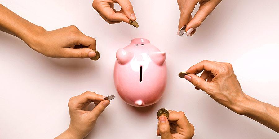 Alternative Finanzierungsformen: Geld ins Firmensparschwein stecken