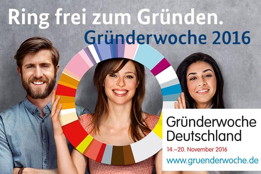 Ankündigung: Veranstaltung zur Gründerwoche in Deutschland bei INTAGUS