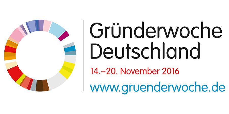 Die diesjährige Gründerwoche in Deutschland wird vom BMWi und verschiedenen Partnern unterstützt.