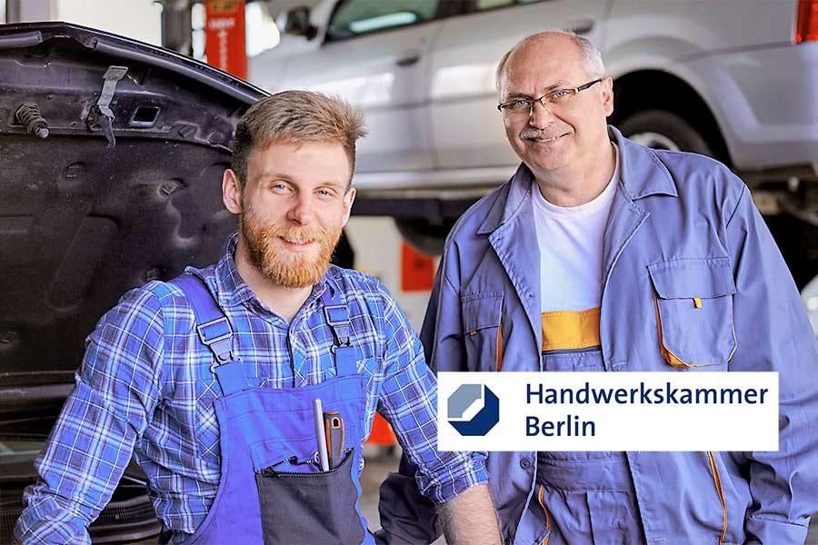 Handwerkskammer Berlin: Infoveranstaltung zur Unternehmensnachfolge