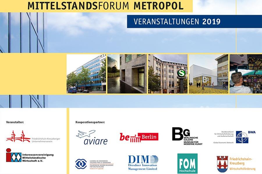 Beim Mittelstandsforum Metropol treffen Sie auf andere Unternehmer und Top-Experten, mit denen Sie sich austauschen können.