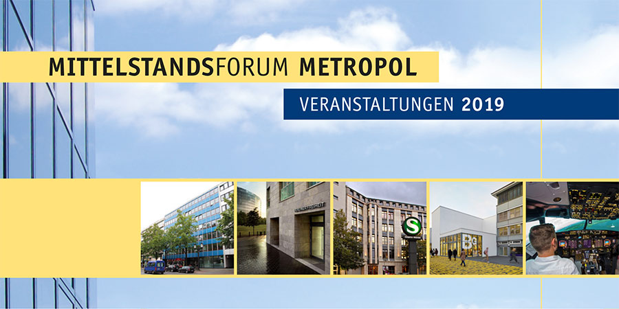 Das Mittelstandsforum Metropol richtet sich an Unternehmer und Unternehmerinnen, die unterschiedliche Vorträge und Termine besuchen können.