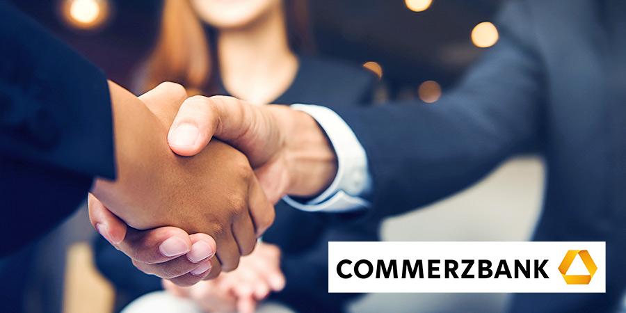Die Commerzbank ist jetzt offizieller Kooperationspartner von INTAGUS.