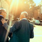 Nachfolgesituation Mittelstand: Zwei Herren im Gespräch