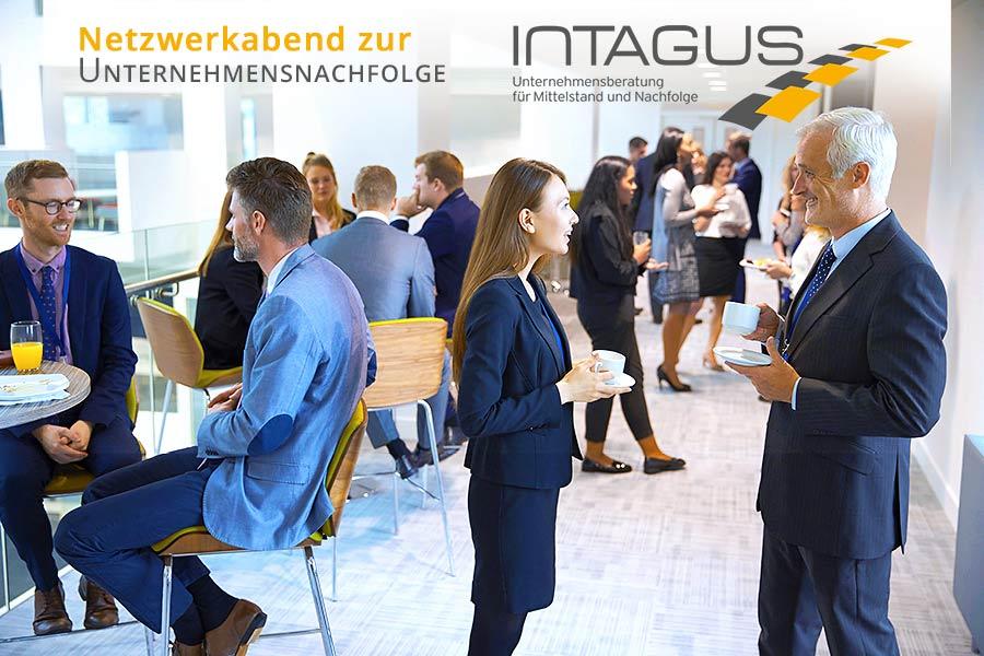 Netzwerkabend zur Unternehmensnachfolge bei INTAGUS