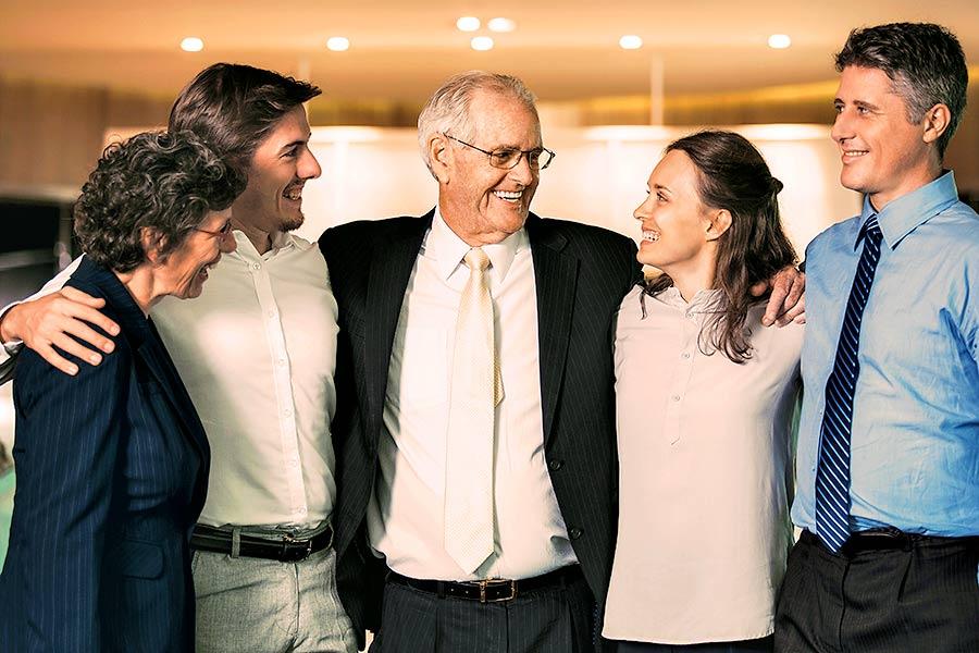 Optionen Unternehmensnachfolge: Familienunternehmen