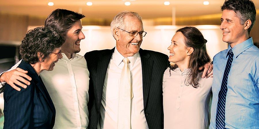Optionen Unternehmensnachfolge: Familie im Business