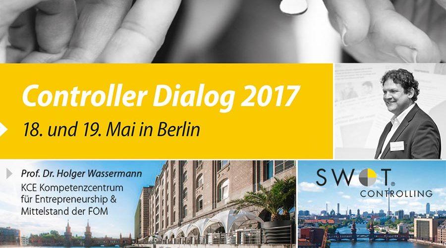 Ankündigung – Controller Dialog im Mai 2017 mit INTAGUS