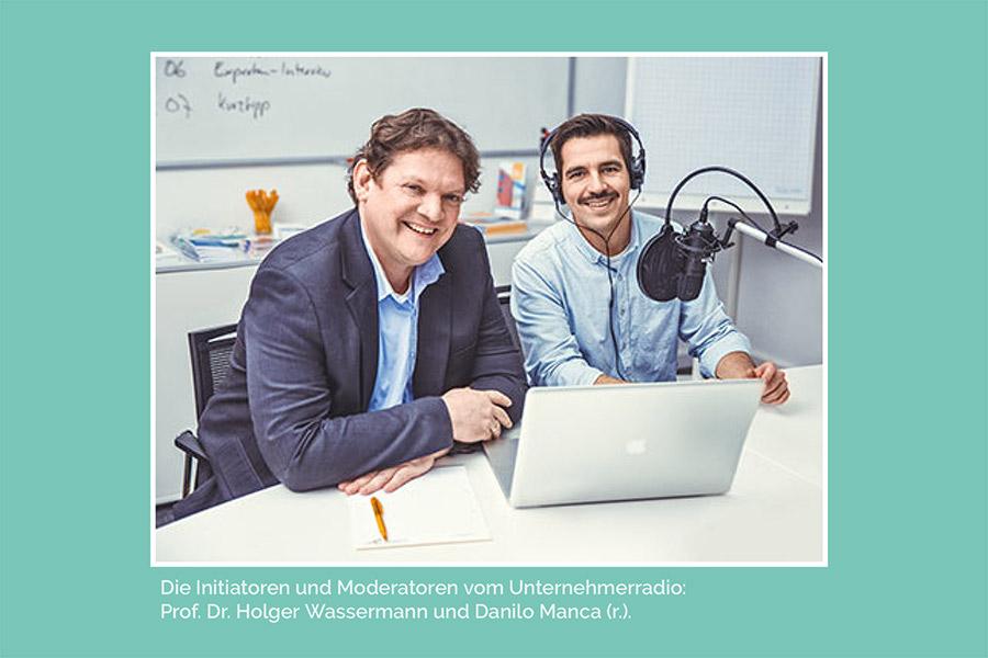 Wirtschaft + Markt: Unternehmensübertragung hautnah beim Unternehmer Radio