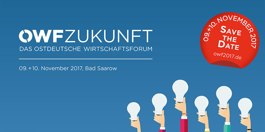 Auch Holger Wassermann von Intagus nutzt das diesjährige Ostdeutsche Wirtschaftsforum 2017.