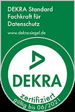 DEKRA zertifiziert für Datenschutz